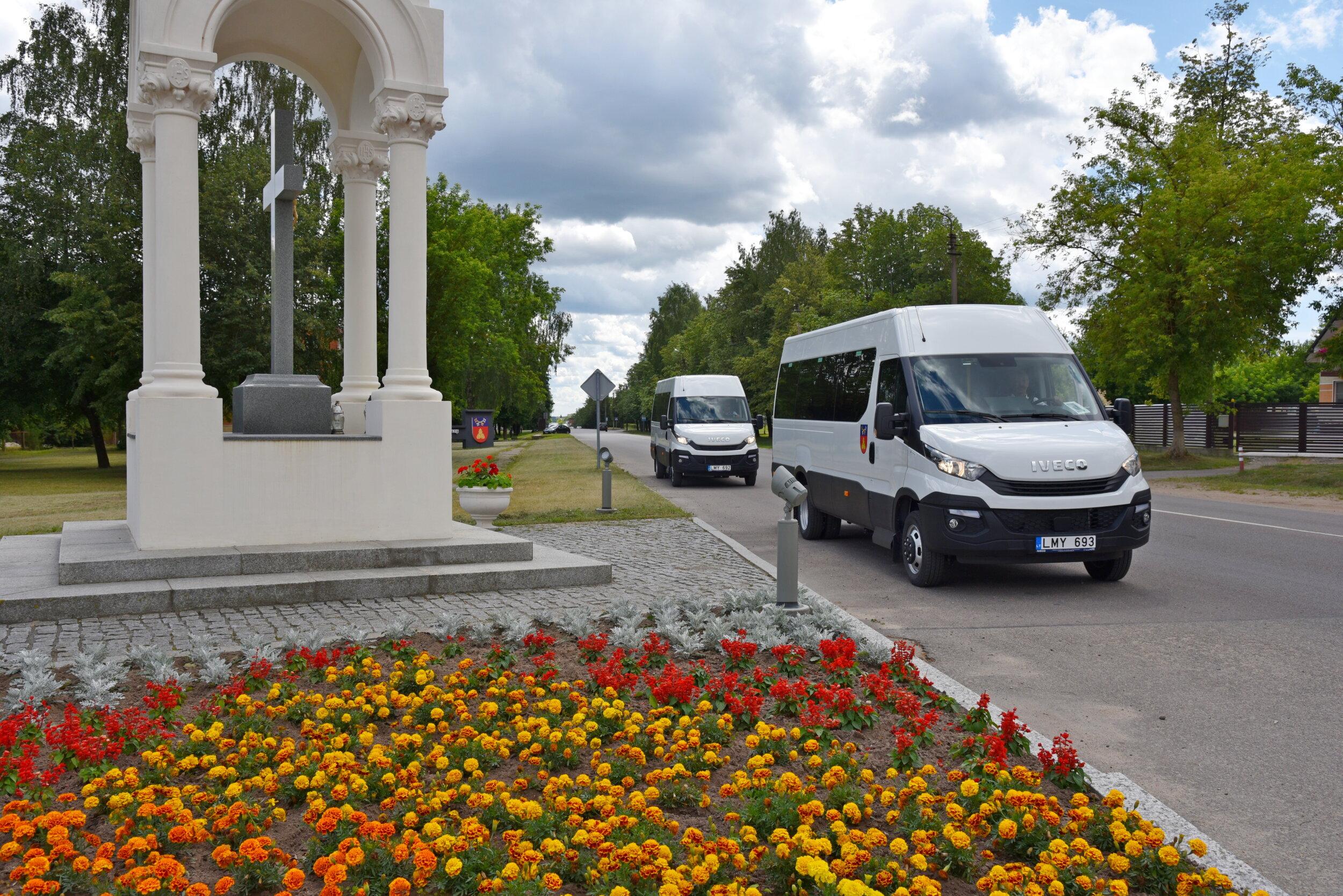 Rajono keliais riedės nauji autobusiukai